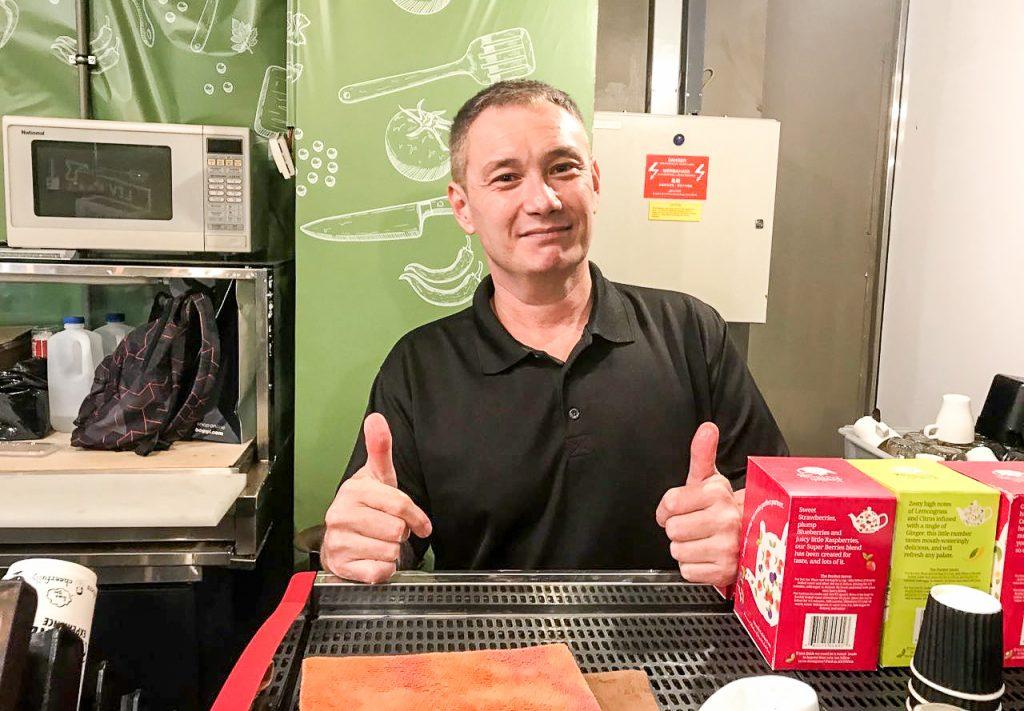 Mr Bruce Meathieu, ex-drug abuser, photo