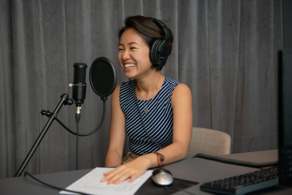 She uses her podcasts to encourage people to have an open and honest conversation about female sexual health.