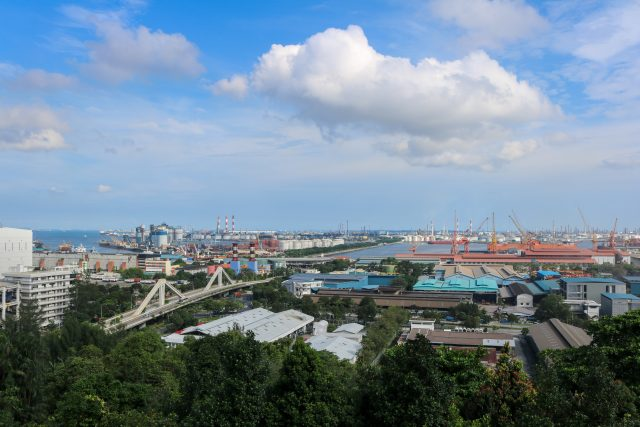 The industrial estate in Jurong was set up in the 60s to draw foreign investments to Singapore.