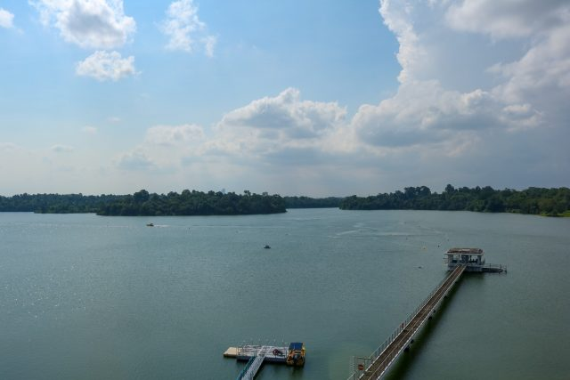Apart from the iconic Seletar Rocket Tower, the other highlight of Upper Seletar Reservoir Park is its fishing area.