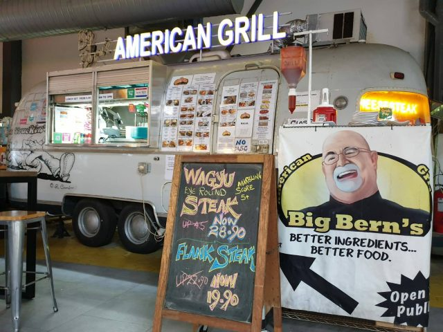 Mr Utchenik had the idea of returning as Big Bern's American Grill in Toa Payoh because Botak Jones was well-received there.